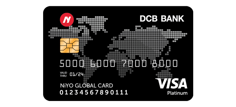 Travel forex card