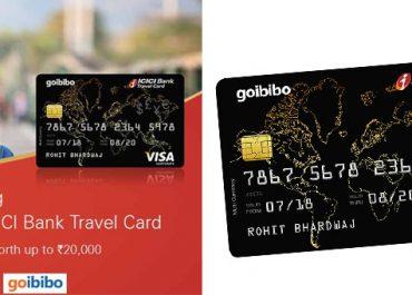 Goibibo ICICI Bank Travel Card