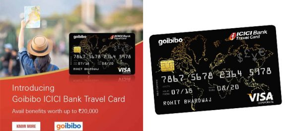 Goibibo ICICI Bank Travel Card